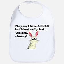ADHD bunny Bib