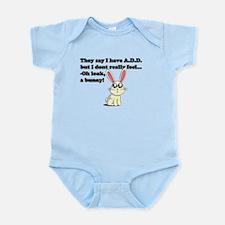 ADD bunny Infant Bodysuit