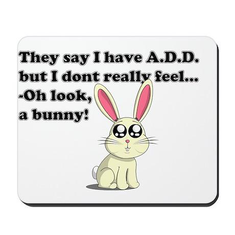 ADD bunny Mousepad