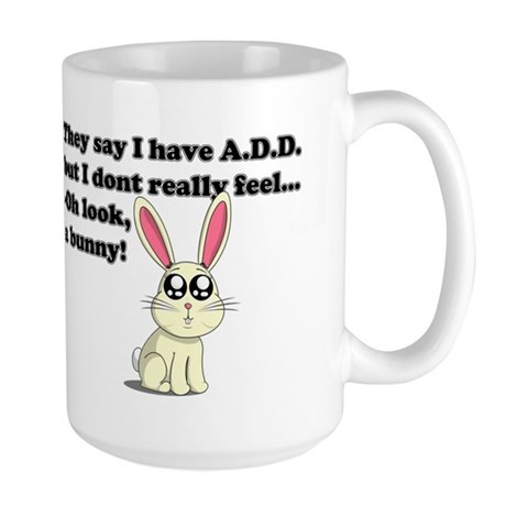 ADD bunny Large Mug