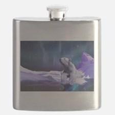 Contemplative Polar Bear Flask