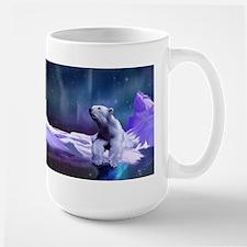 Contemplative Polar Bear Mug