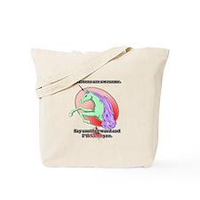 Unicorns are awesome Tote Bag