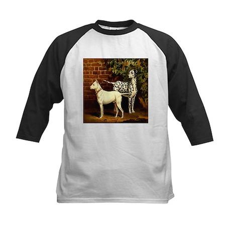 Dalmation & Bull-terrier 1880 Kids Baseball Jersey