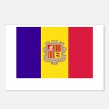 Andorra Flag Picture Postcards (Package of 8)