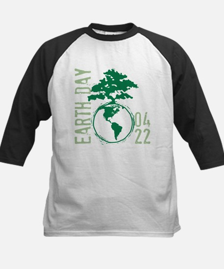 Earth Day 04/22 Kids Baseball Jersey