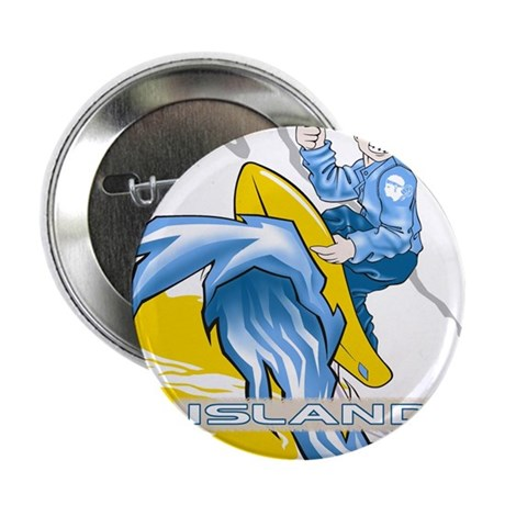 """Island 2.25"""" Button (10 pack)"""
