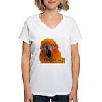 Sun Conure Steve Duncan Women's V-Neck T-Shirt