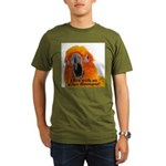 Sun Conure Steve Duncan Organic Men's T-Shirt (dar
