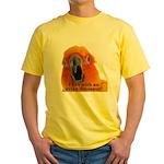 Sun Conure Steve Duncan Yellow T-Shirt