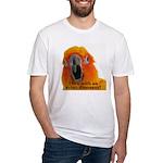Sun Conure Steve Duncan Fitted T-Shirt