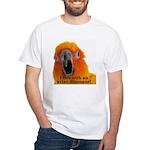 Sun Conure Steve Duncan White T-Shirt