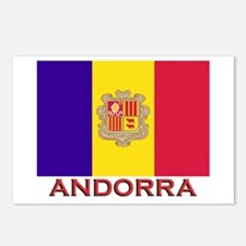 Andorra Flag Stuff Postcards (Package of 8)