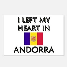 I Left My Heart In Andorra Postcards (Package of 8