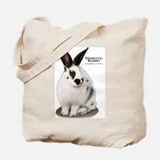 Domestic Rabbit Tote Bag