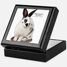 Domestic Rabbit Keepsake Box