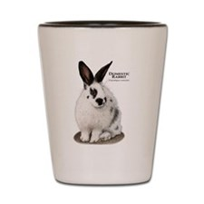 Domestic Rabbit Shot Glass