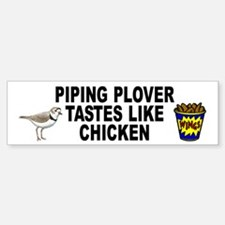 Piping Plover Bumper Bumper Sticker