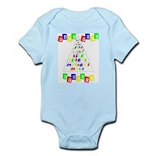 Baby Food Pyramid Infant Bodysuit