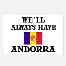 We Will Always Have Andorra Postcards (Package of