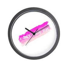 I Only Date DJs Wall Clock