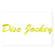 Disc Jockey Postcards (Package of 8)