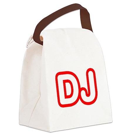 DJ Canvas Lunch Bag
