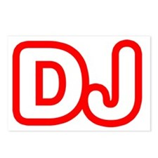 DJ Postcards (Package of 8)