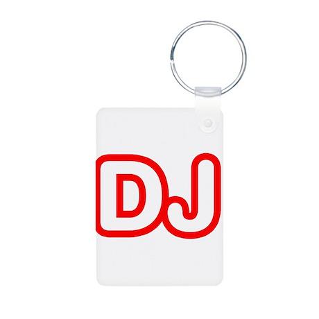 DJ Aluminum Photo Keychain