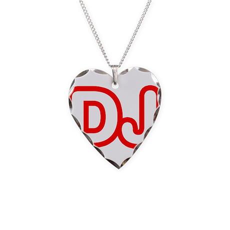 DJ Necklace Heart Charm