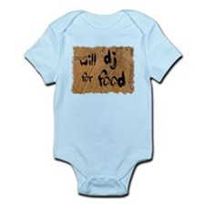 Will DJ For Food Infant Bodysuit