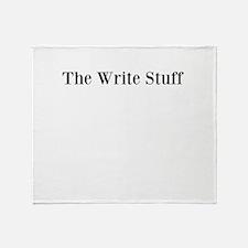 The Write Stuff Throw Blanket