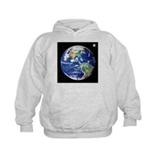 Earth from space, satellite image - Hoodie
