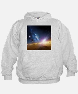Extrasolar gas giant planet, artwork - Hoodie