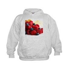 Blueberries and raspberries - Hoodie