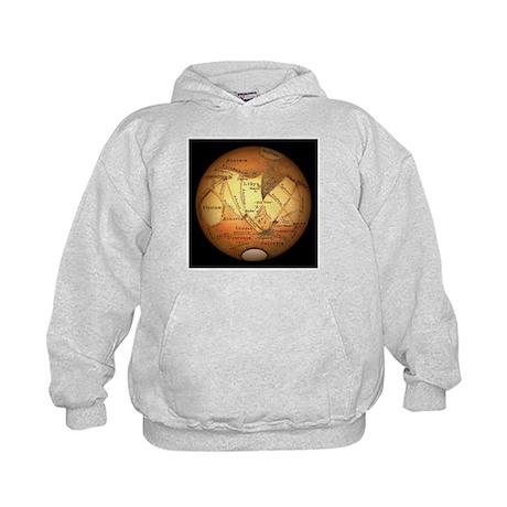 Schiaparelli's observations of Mars - Kids Hoodie