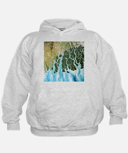 Ganges River delta, India - Hoodie