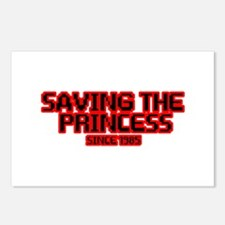 Saving the Princess Postcards (Package of 8)