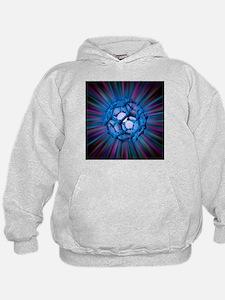 Buckyball molecule, artwork - Hoodie