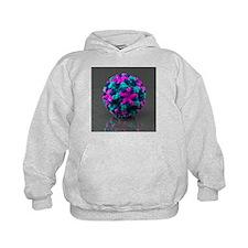 Norwalk virus, artwork - Hoodie