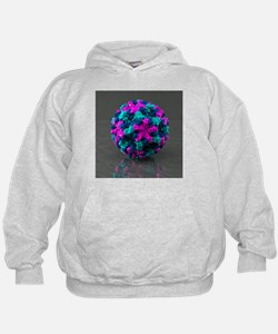 Norwalk virus, artwork - Hoodie