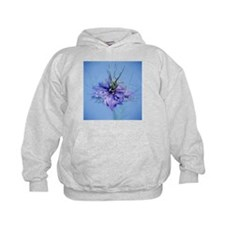 Love in the mist flower (Nigella sp.) - Hoodie
