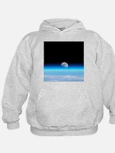 Moonrise over Earth - Hoodie