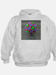 Hepatitis B virus, artwork - Hoodie