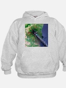 Mount Etna's smoke plume - Hoodie