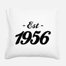Established 1856 - Birthday Square Canvas Pillow