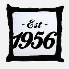 Established 1856 - Birthday Throw Pillow