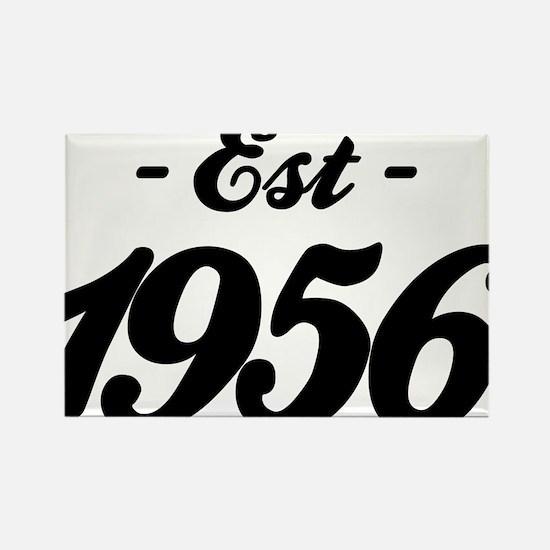 Established 1856 - Birthday Rectangle Magnet