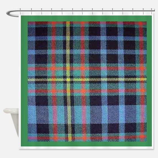 MacLellan Tartan Shower Curtain