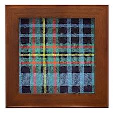 MacLellan Tartan Framed Tile
